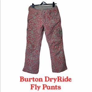 Burton DryRide Fly Snowboarding Pink Pants S 1502